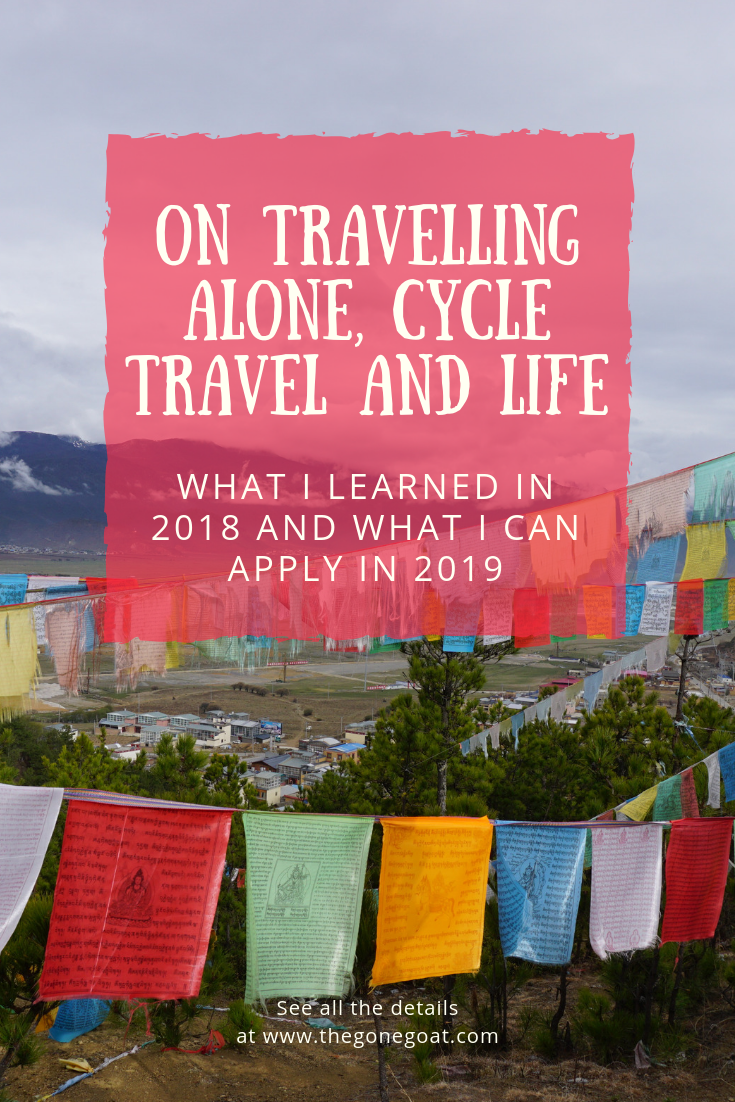 The Year That Was: I reflect on the ideas that formed during my trip that symbolised personal freedom (what's it like travelling alone) and mobility (cycle travel) on a year of reflection.
