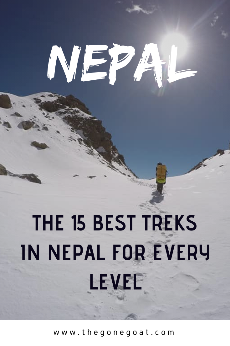 The best treks in Nepal are not to be messed with, there's the easy doable treks and some daunting peaks that will change the way you approach hiking and trekking in life. #Nepal #hiking #trekking #traveldestinations #Mountains #asia #himalayas