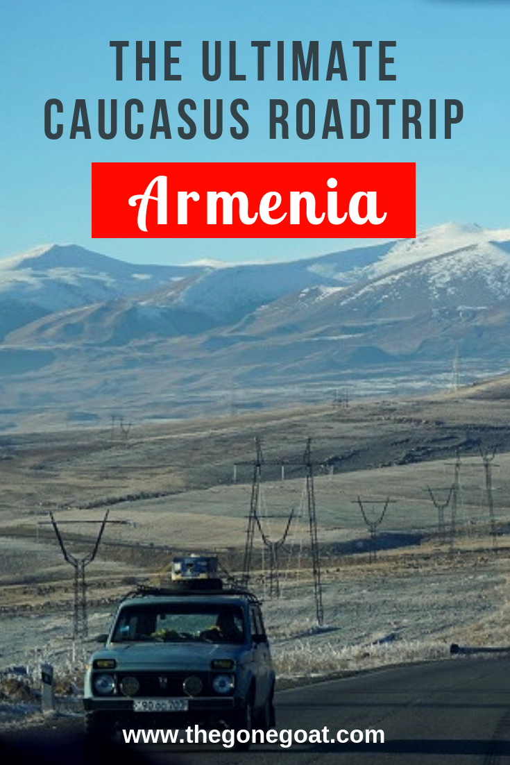 Not much is known about Armenia, a population of 3 million people. There's so many places to visit in Armenia, and a trip to this tiny Caucasus nation is not complete without a road trip to see the remote villages and stunning mountains. #Armenia #caucasus #Roadtrip #placestovisit #traveldestinations