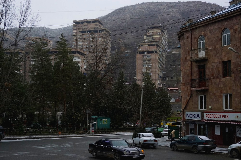 Kapan, largest city in southern armenia