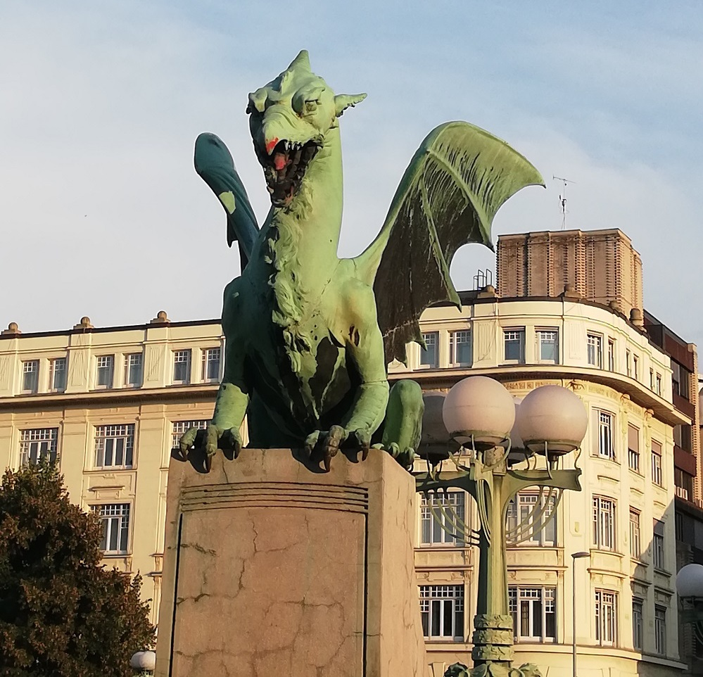 Slovenia is also known as the 'Dragon City'.