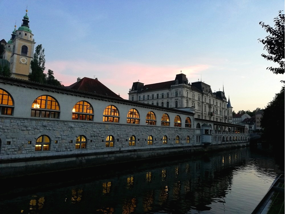 Slow-travelling in the capital of Slovenia, Ljubljana