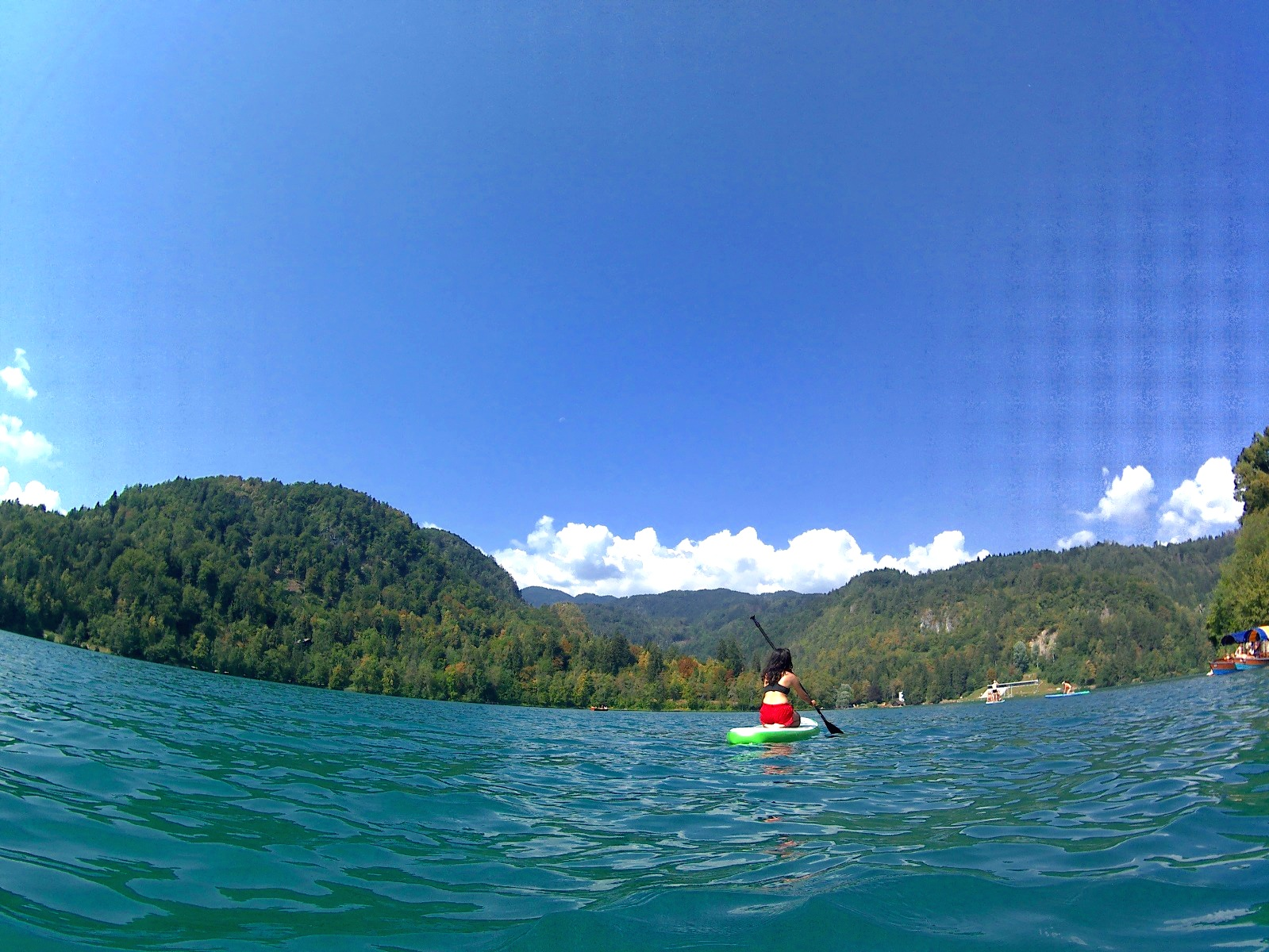 Stand up paddle boarding in Lake Bled for 10 euros