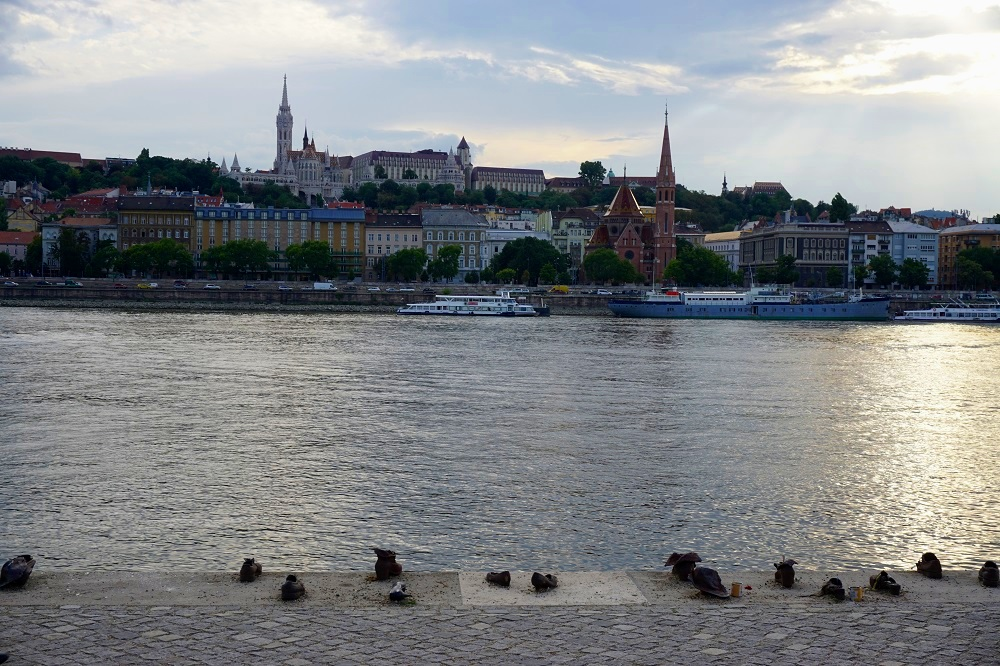 The Shoes on the Danube Bank was a memorial to the Jews who were executed in Budapest during 1944-45