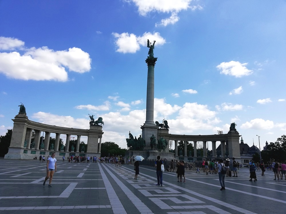 The Heroes Square at Budapest
