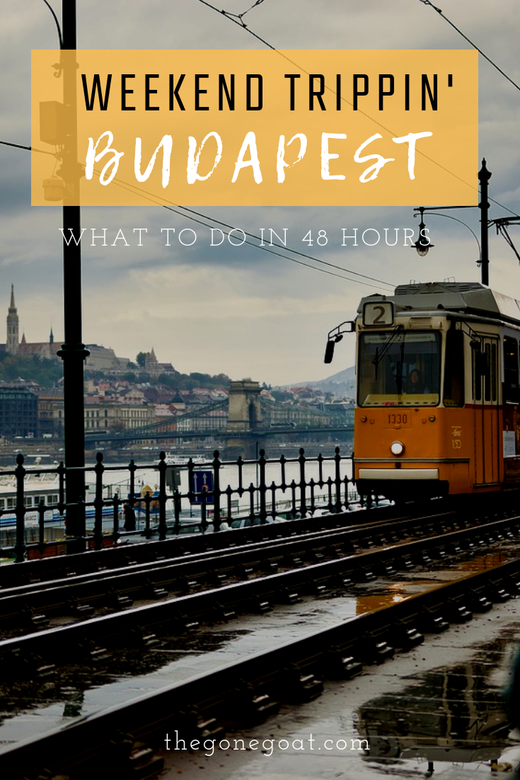 Weekend Trippin' in Budapest, the capital of Hungary. Here's a 2 days itinerary in Budapest on what to do, what to see, and where to stay to have an immersive experience in the Roman city. #Budapest #Europe #TravelDestinations #WeekendBudapest #EuropeCityBreaks #Travel #Danube