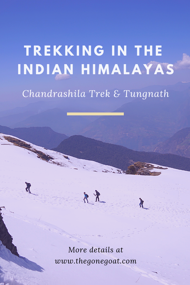 Trekking in the Indian Himalayas via the Chandrashila Trek and Tungnath has a way of changing your perspective of the mountains in the world. Here's how I trekked to the highest Shiv temple in the world and saw not one mountain, but thousands of other magical massifs. #Himalayas #India #Trekking #BestTreks #Chandrashila #Mountains