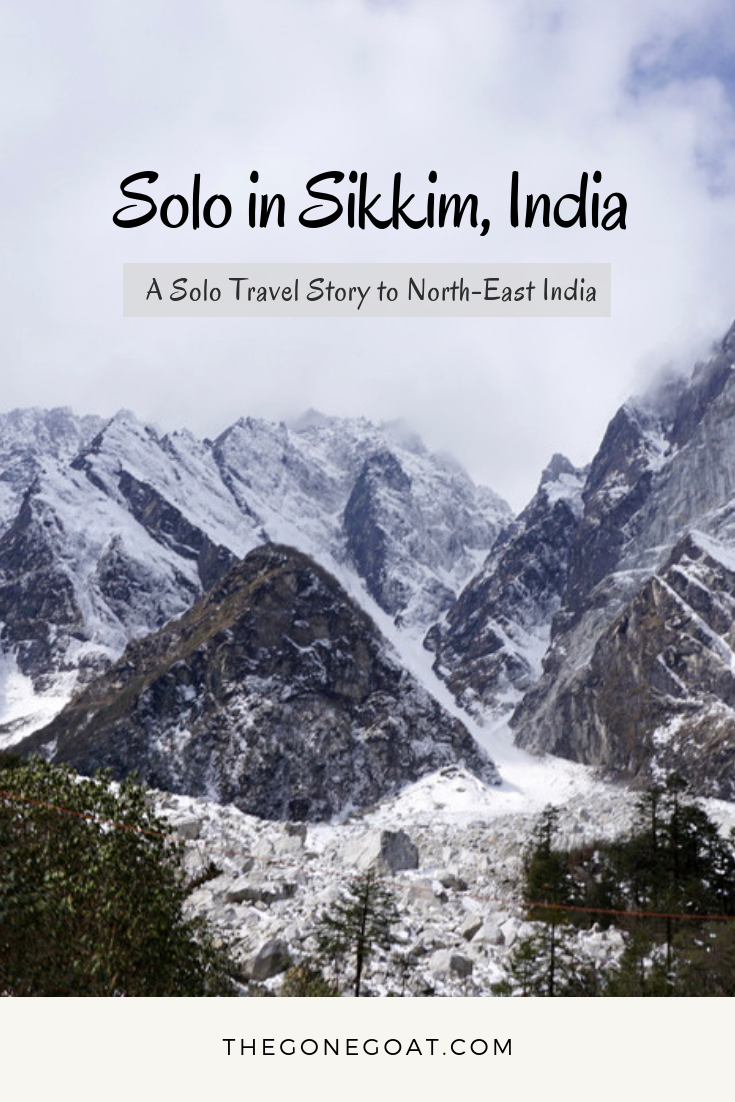 From messing up at the checkpoints to spending time with three honeymooners, the misadventures of Sikkim, a solo travel destination dream in India was all about rolling with the punches. #India #Sikkim #TravelIndia #TravelAsia #NorthEastIndia #SoloTravelDestinations