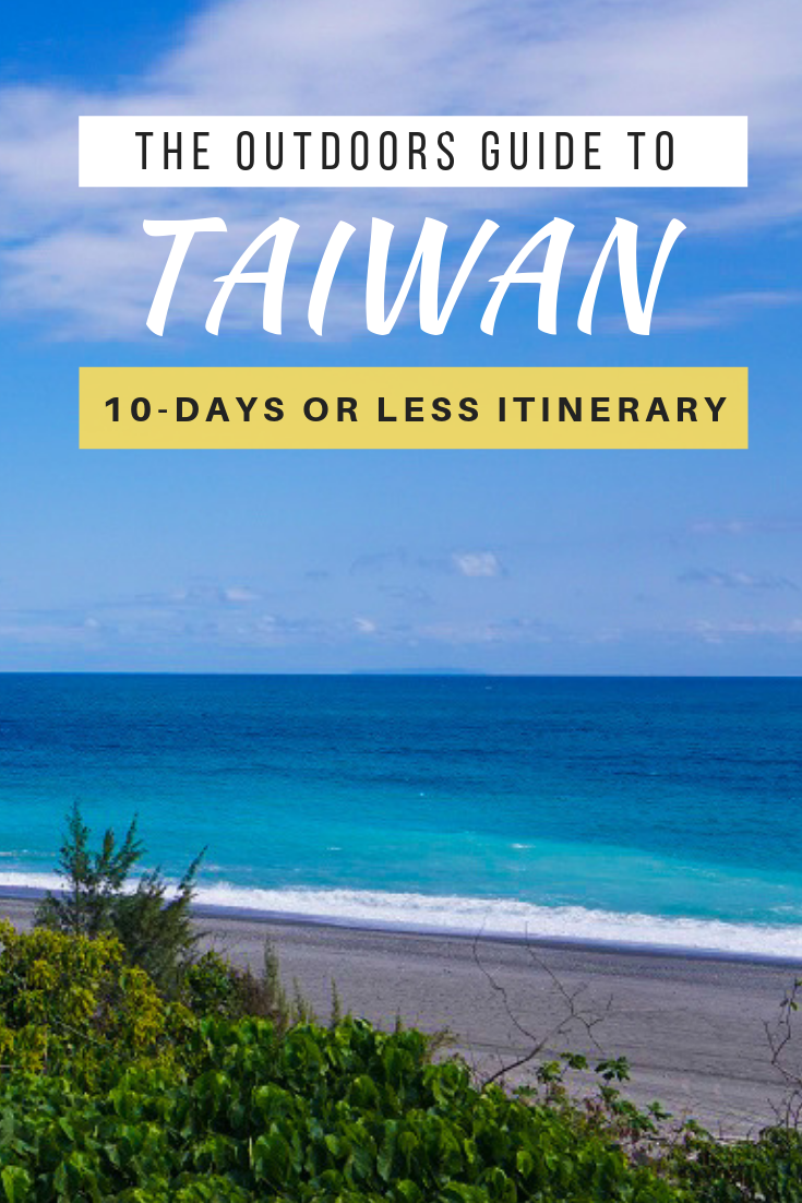 If there's one country that fits this description to a T, it is Taiwan - a clear underrated destination in Asia. Here's a itinerary of Taiwan in 10 days or less involving hiking, surfing and cycling. #Taiwan #AsiaTravel #Adventure #TravelDestinations