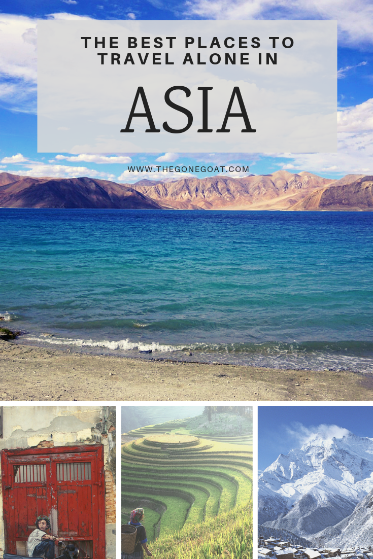 Sometimes the best places to travel alone or go solo in Asia are places that no one knows about, the places where you may not be able to identify on the map, or the places you'll meet people out of nowhere. #Solotravel #Asia #TravelAlone