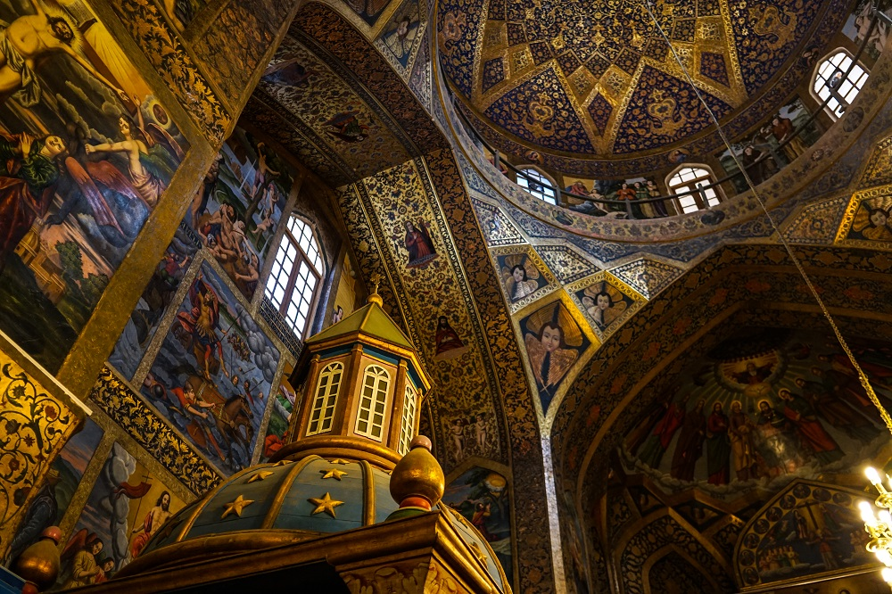 the artistic vank cathedral.