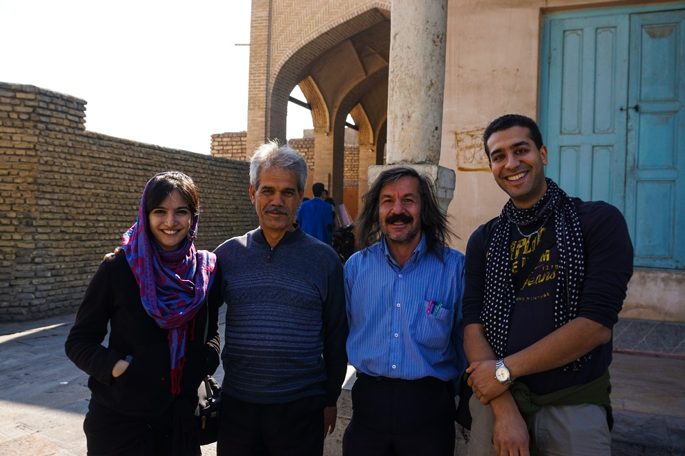 an armenian who was happy to share his experience of living in iran.