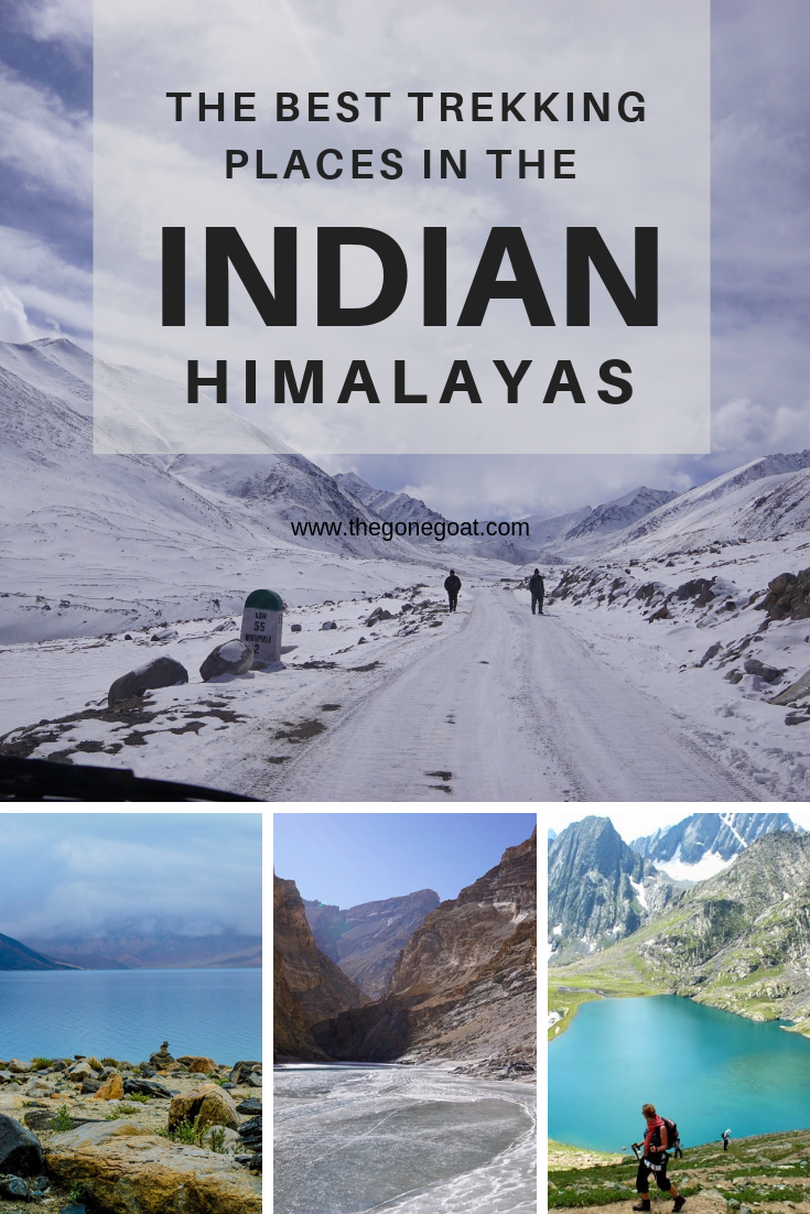 The best trekking places in the Indian Himalayas are remote, awe-inspiring and filled with wonder. From Ladakh to Uttarakhand and Sikkim, here are the best trekking places to hike in India to explore, write, or do nothing. #IndianHimalayas #Trekking #Hiking #Asia #India #SoloDestinations #Outdoors #Treks #Adventure
