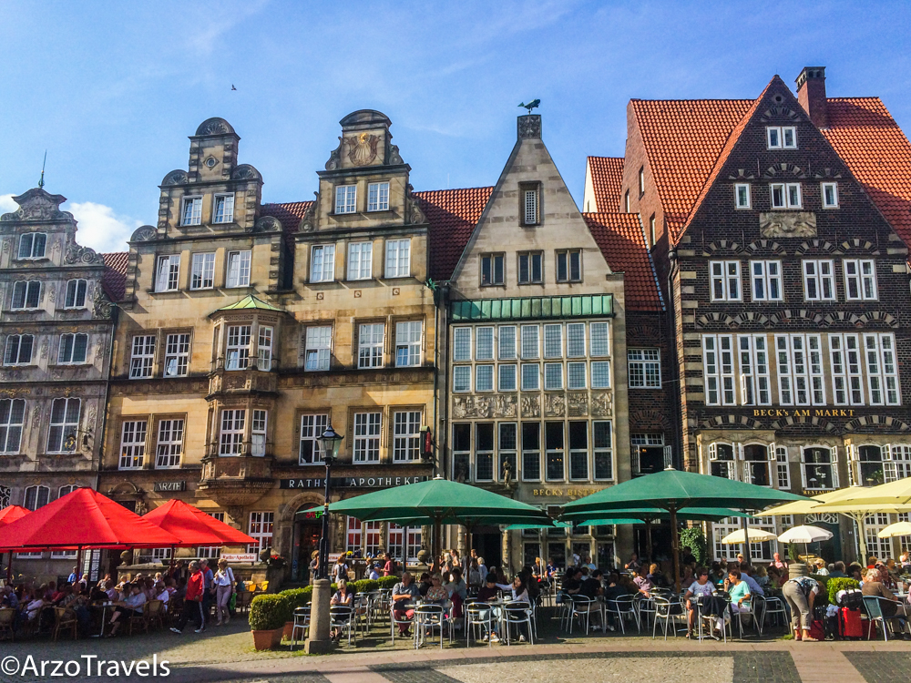 Bremen is a beautiful city with about 500,000 inhabitants and it has one of the most beautiful old towns and many fun places to visit in the summer months.