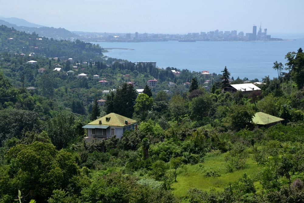 Batumi, Georgia is the main seaside resort in the Caucasus region.