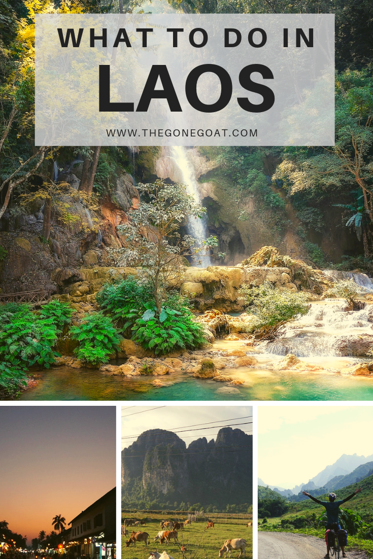 Imagine slow-country back lanes, the Mekong delta and a country plagued with a disastrous secret war. Here's a Laos adventure itinerary and the best places to visit in this small landlocked nation. #Laos #AsiaTravel #SoloDestinations #TravelDestinations #SlowTravel #SouthEastAsia #Travel