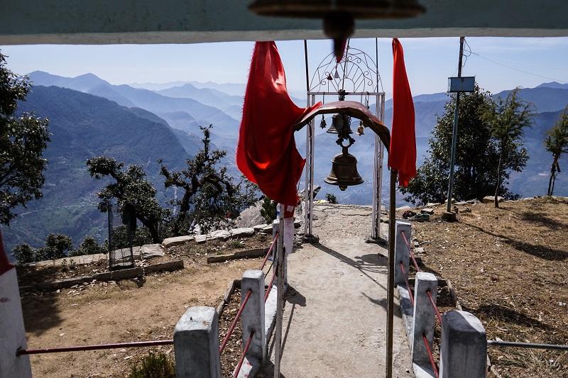 The Maa Kali temple in Uttarakhand
