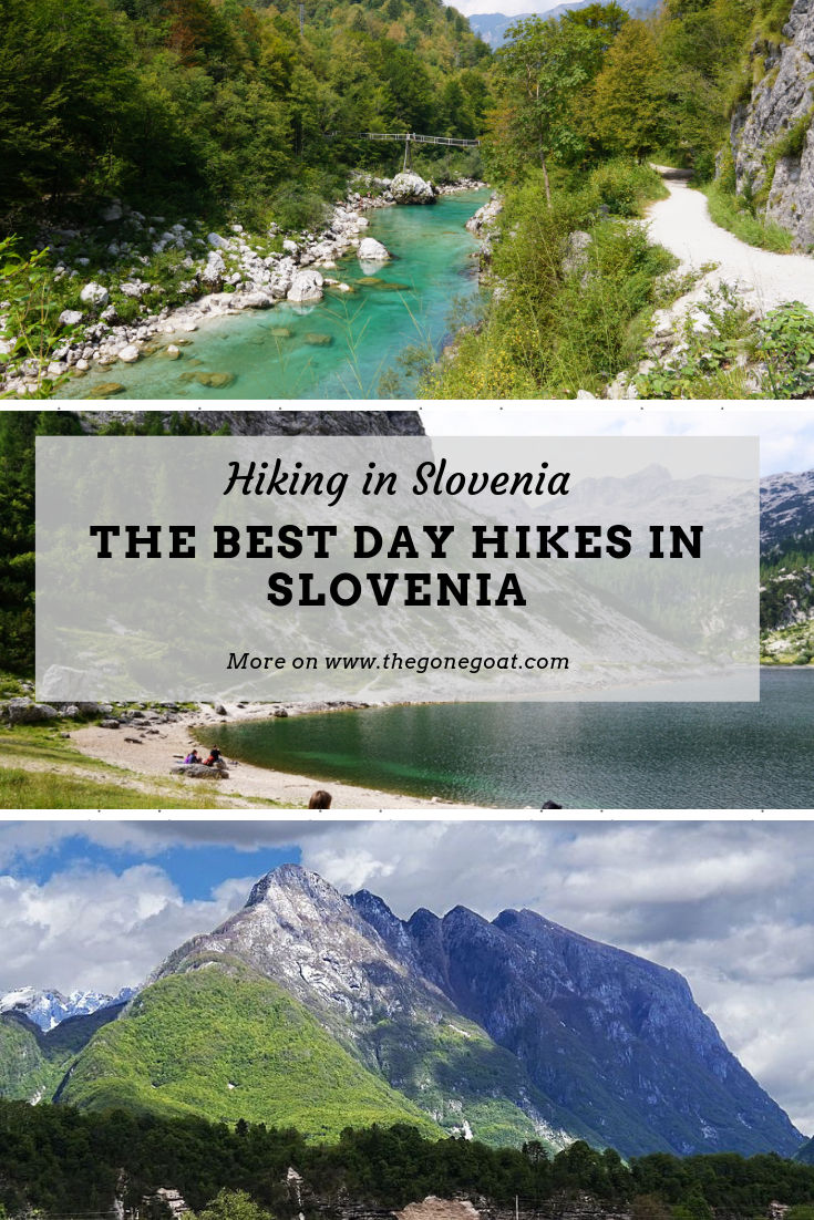 You should know that hiking is the national pastime in Slovenia and for good reason. Hiking in Slovenia is a dream as it has the best day-hikes and best hiking trails in Europe that you can't miss. Here's some of the best day hikes to experience in Slovenia. #Hiking #Trekking #Slovenia #Europe #Balkans #Mountains #SoloTravel #TravelDestinations