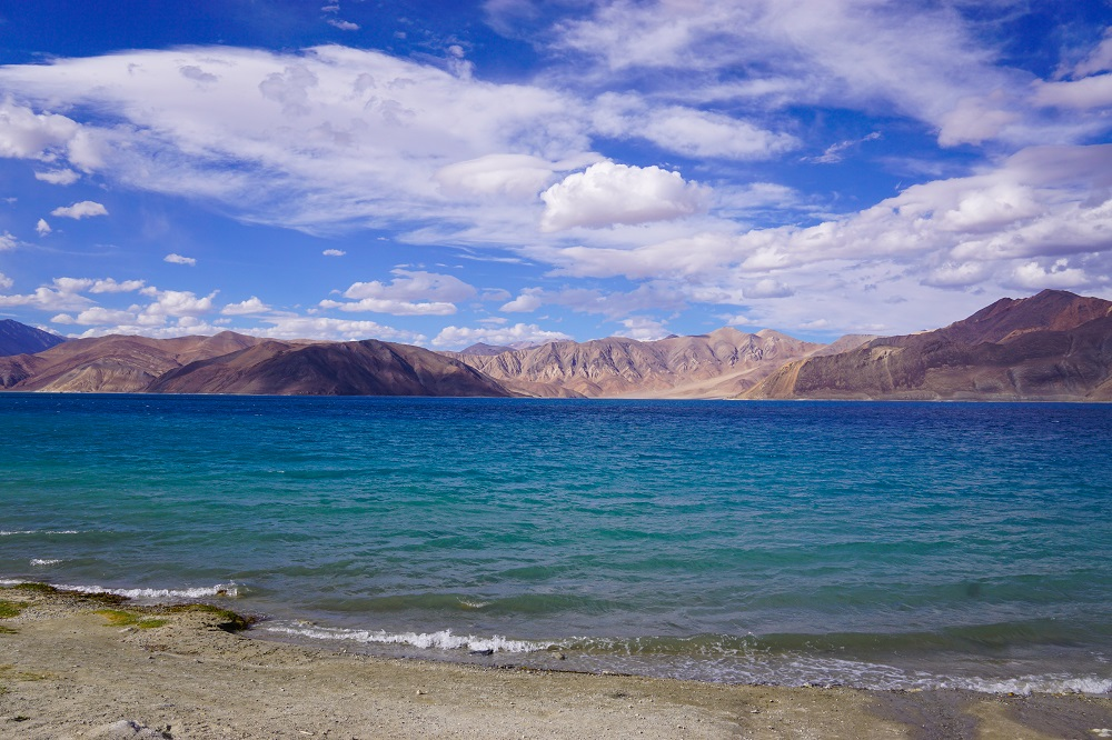 The famed Pangong Lake in August. While it was clean at this part, unfortunately other parts of Pangong was filled with trash! I didn't have pictures with me at that time but this is just a reminder of what single-use plastic can do to pristine places like this.