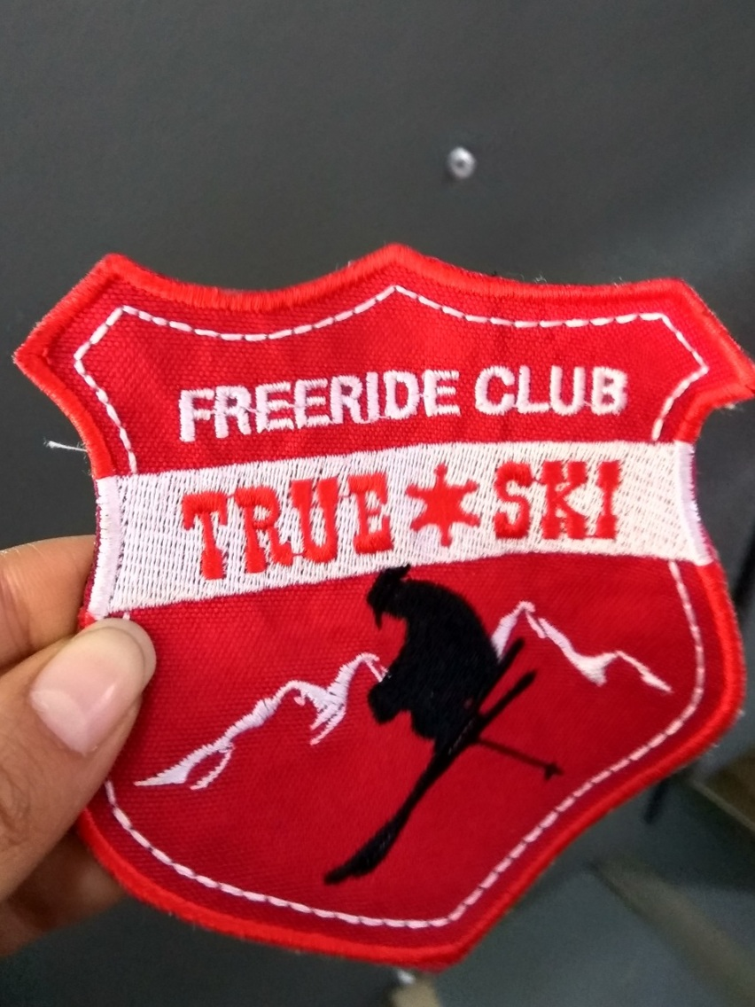 Officially part of the freeride club without having to work hard for it
