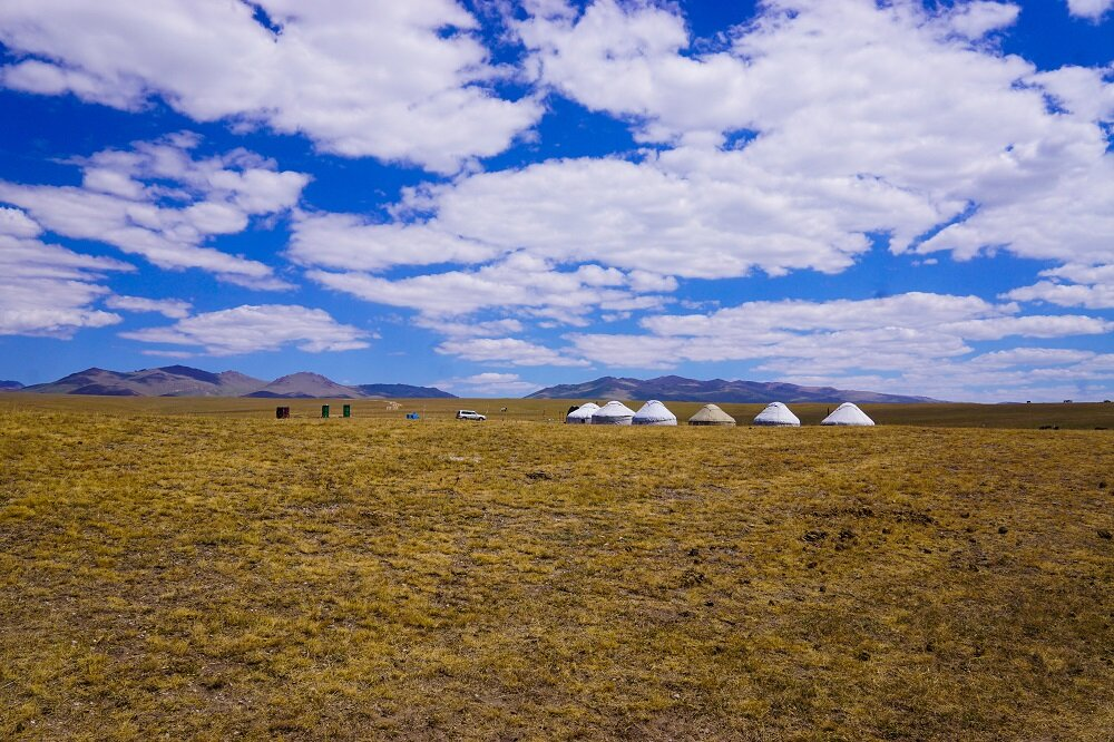 Our stunning Yurts in Kyrgyzstan.