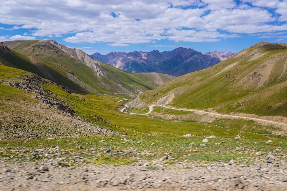 The Kalmak-Ashoo Pass.