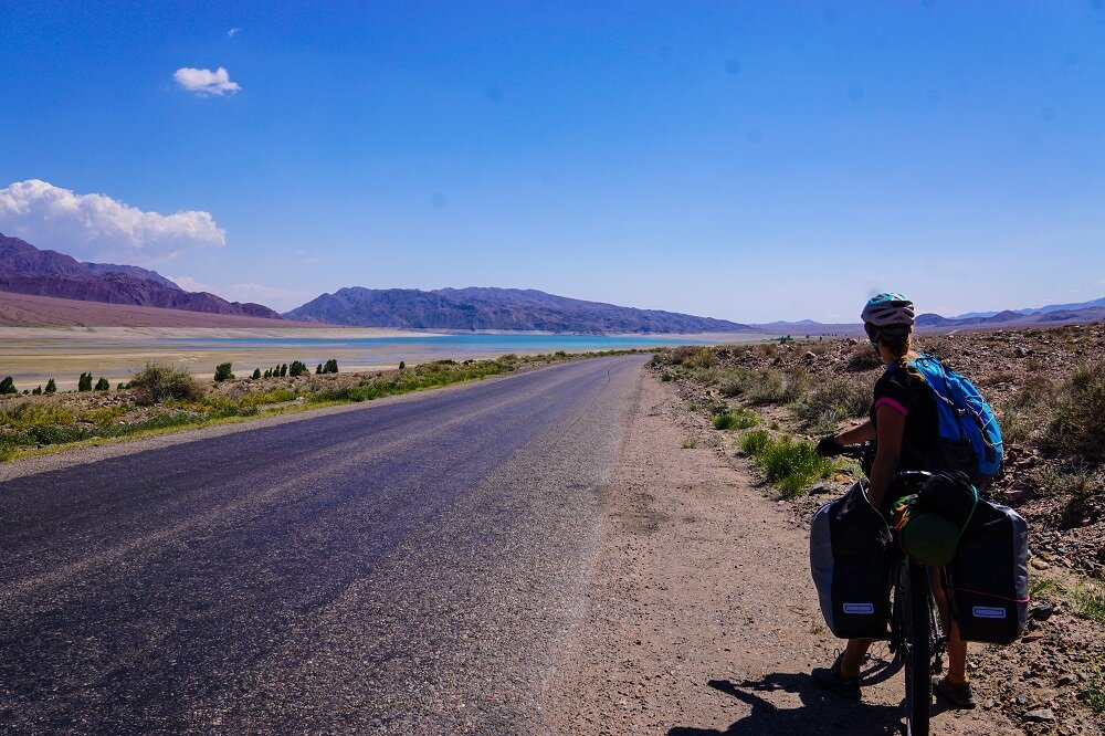 Cycling and bicycle touring in Kyrgyzstan comes with a lot of unpredictability - just got to roll with it.