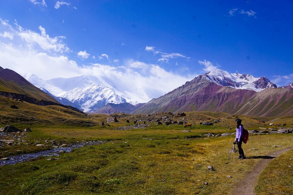 Trekking in Kyrgyzstan means having a lot of places just to myself.