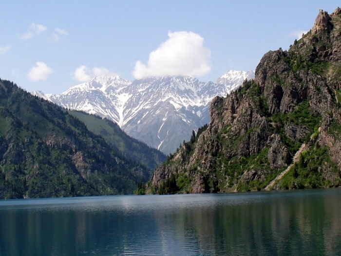 Sary Chelek in Kyrgyzstan. PC - Caravanistan