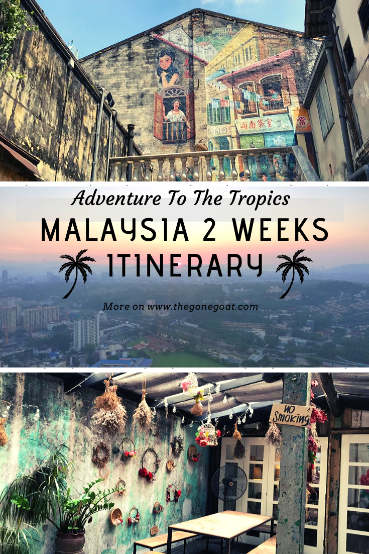 When you're craving for that little adventure in the tropics, Malaysia has it all. Here's a 2 week itinerary of what to do, what to see and where to stay in Malaysia, a country filled with diversity and contrasts. #Asia #Malaysia #TravelDestinations #SoloDestinations #Travel #MalaysiaItinerary #KualaLumpur