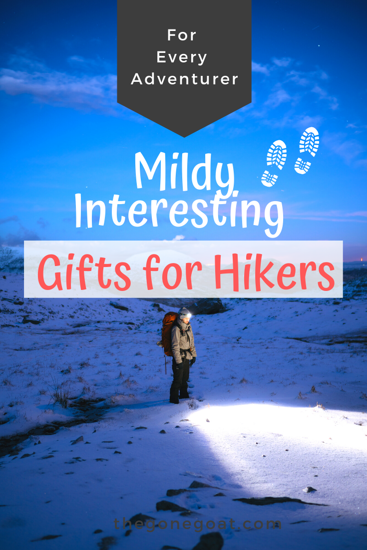The best gifts for hikers are often the quirky ones. From after-hike outfits to functional hiking gear, here are some of the best gifts and ideas for hikers in the most creative and quirkiest way. giftsforhikers #giftideasforhikers #outdoors #giftideas #adventure #hiking #mountains #giftsforhim #giftsforher