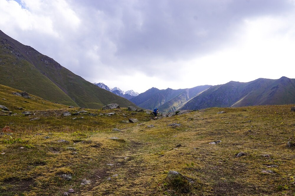 Another undulating hill as we reached near Kol Tor Lake on our hike.