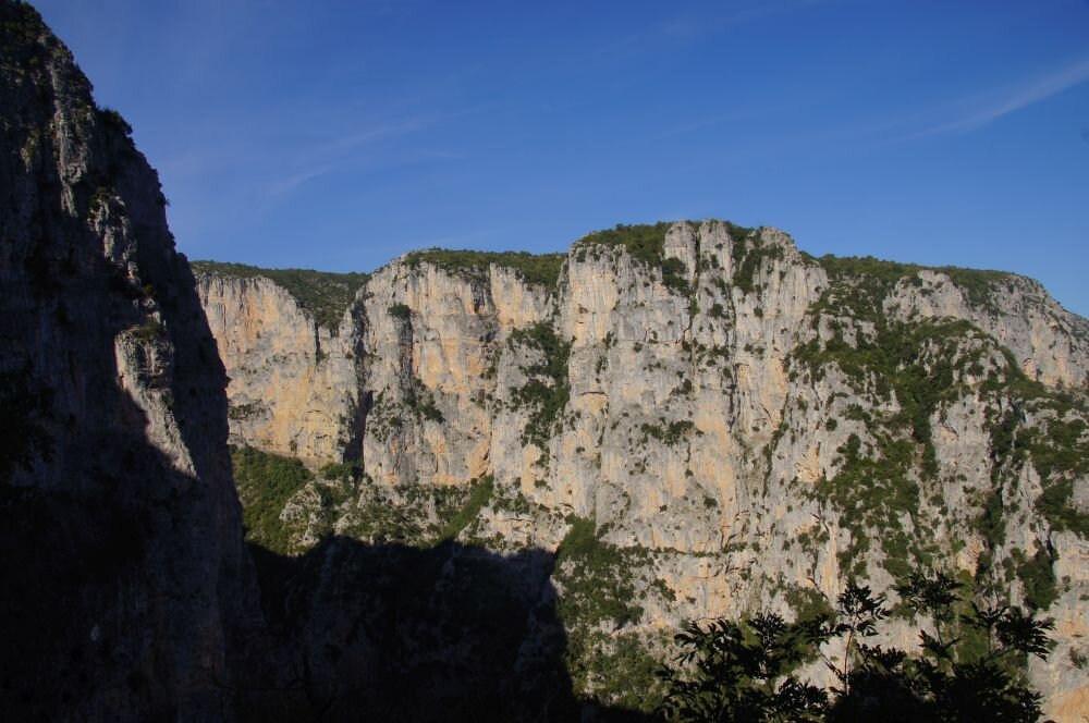 The Vikos Gorge in the northern region of Zagorohoria is well and truly off the beaten track