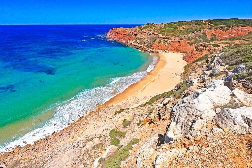 The Rota Vicentina is a perfect combination of beach and hiking holiday, it's suitable for any travelers while hiking in Europe.