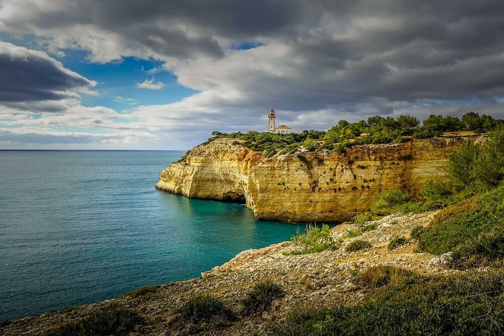 The Algarve coastline is some of the most beautiful in the world, so it's the perfect setting for a scenic hike in Europe.