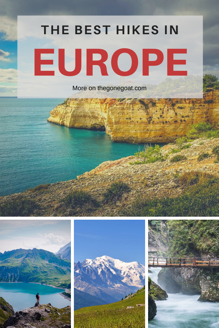 The hiking trails in Europe are where wearied souls like me and you can allow ourselves to wander a bit, become aligned with our everyday actions. Explore Europe's best hikes through these offbeat trails. #hikes #outdoors #trekking #europe #treksineurope #besttreksineurope