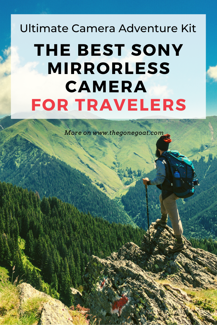 Sony's impressive line-up of compact mirrorless camera for travelers makes it one of the best travel gear to have in 2020. Travelled for months and have made it my go-to camera for portraits, landscapes, street and everyday uses. Here's a guide for picking the best sony mirrorless travel camera #sony #travelcamera #besttravelcamera #travelgear #travelpackinglist #adventure #travelkit #mirrorless