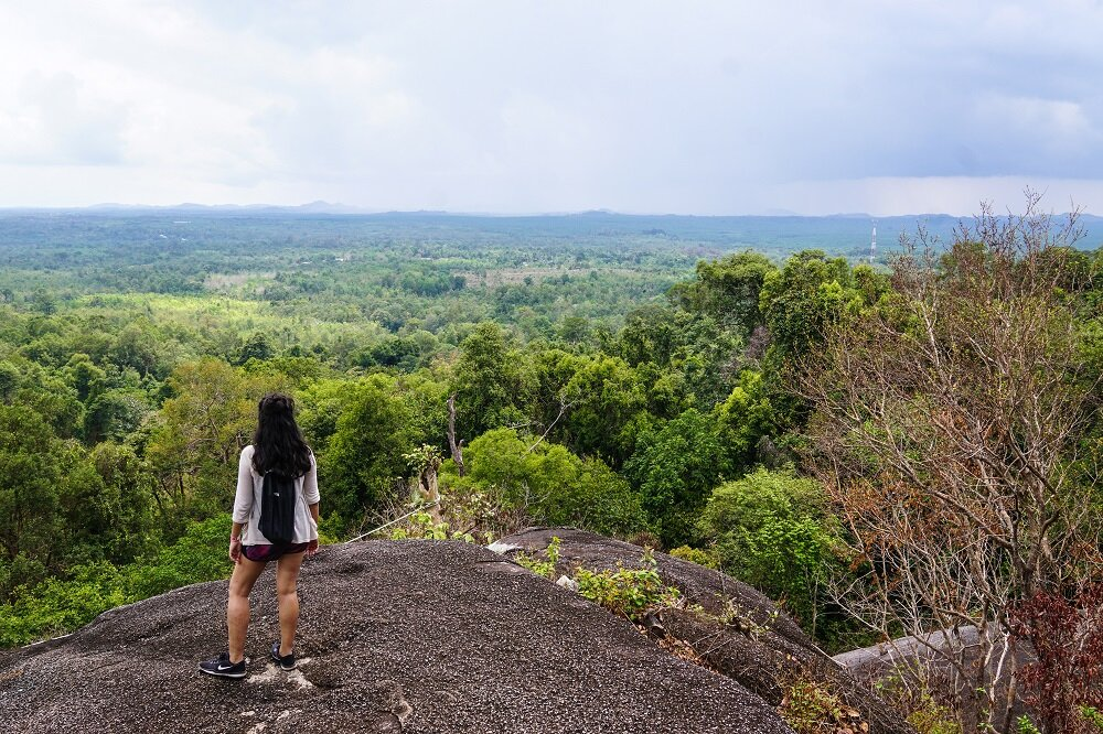 Bukit peramun, one of the best view points in belitung
