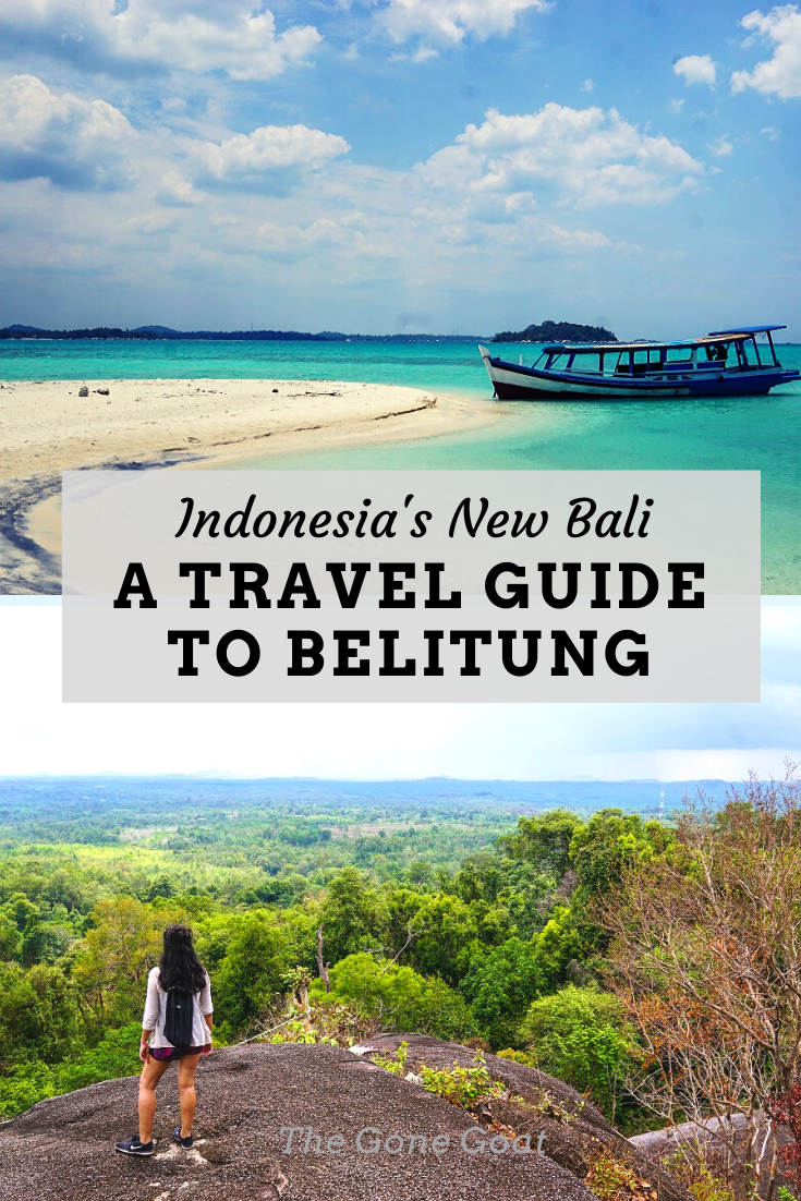 Life on the slow lane and the white powdery beaches makes Belitung one the best places to travel on a 3 to 4 days itinerary. Tagged as the new Bali, Belitung was known by outsiders for little more than its tin industry. Here's a travel guide to visit an alternative Bali, Belitung #travelideas #asiatravel #beachholidays #balitravel #traveldestinations #belitung #indonesiatravel #islandtravel #beachtravel