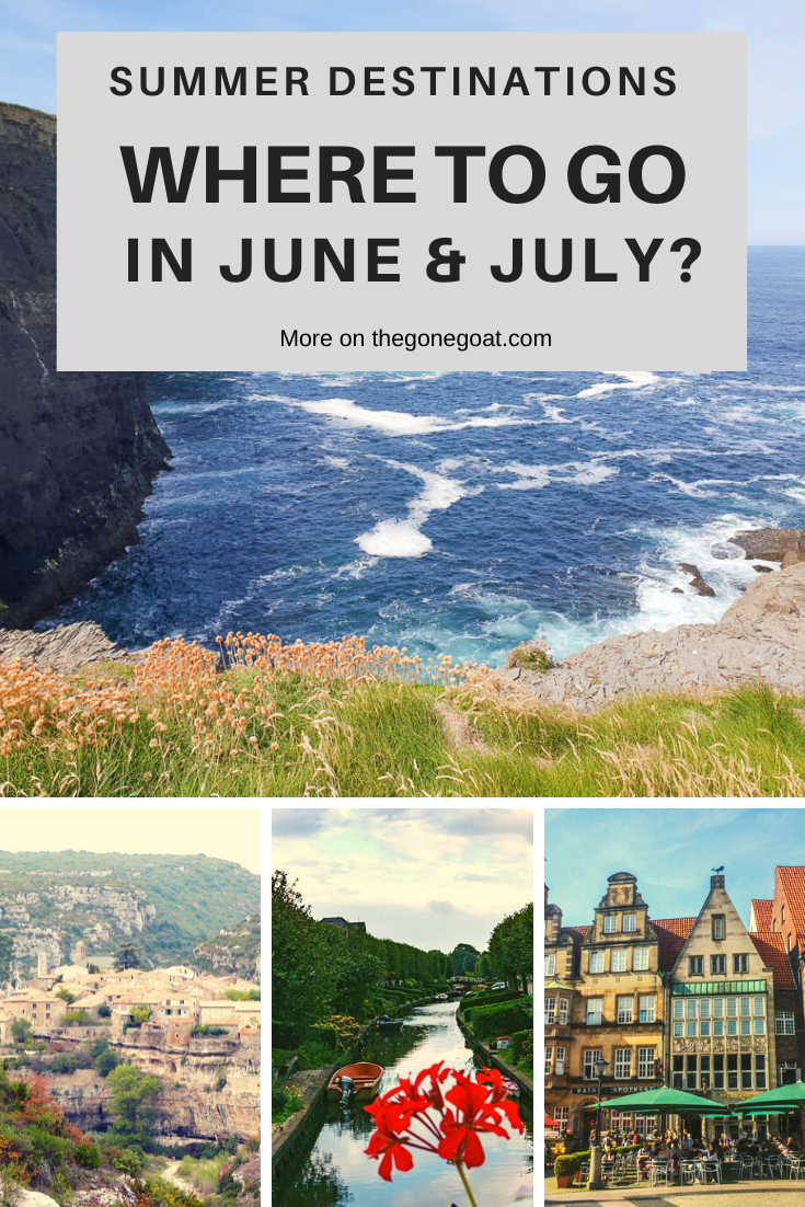 There's always places that work up a charm, where it feels like you're stepping into an old book with familiar pages, where the rhythmic buzzing of people excites you. Here's the best underrated summer holiday destinations to visit. #SummerHolidayDestinations #TravelDestinations #Summer #Europe #Asia #Travel #Offbeat #wheretotravelinjune #TravelinJuly
