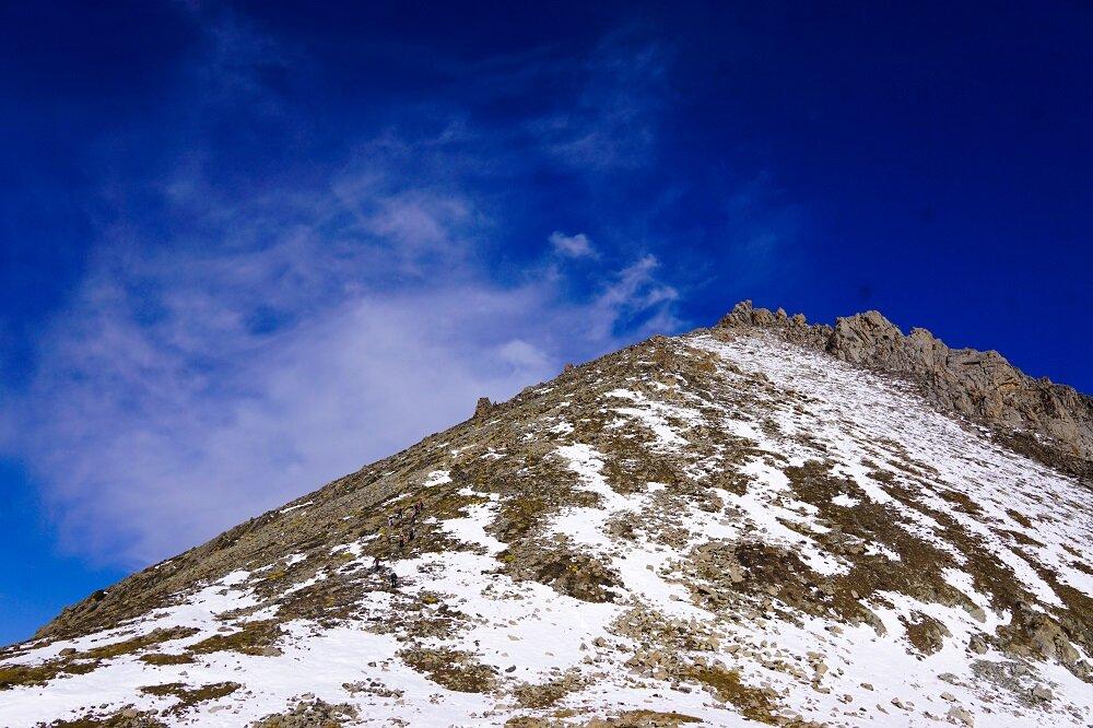 the pyramid mountain of kazakhstan, hiking big almaty peak.