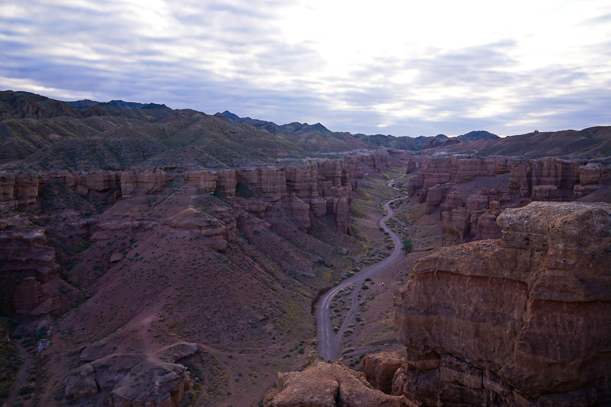 Not a bad idea to cycle through kazakhstan's charyn canyon?