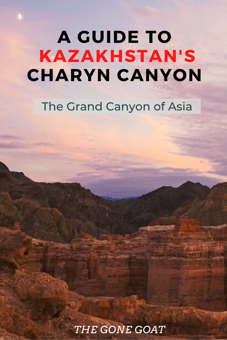 Visiting the Charyn Canyon, rightly tagged as Kazakhstan's Grand Canyon and even possibly the second largest Canyon after the US, I was intrigued about this place. Here's a guide to joining a camping tour as we witness a place that is close to 12 million years old. #Kazakhstan #offbeattravel #centralasiatravel #canyon #travelideas #traveldestinations #asiatravel #solotravel #camping