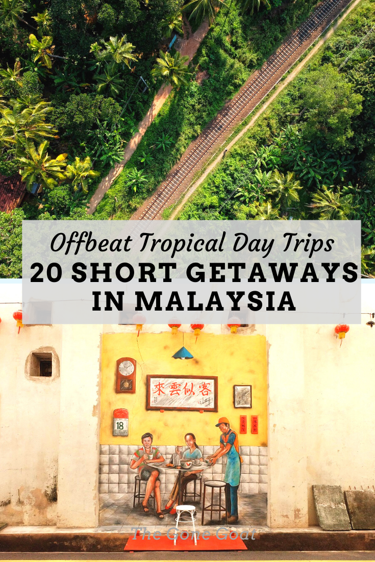Take on a whole new meaning with slow travelling, people, culture and vibe with these short getaways in Malaysia from KL that can be done over the weekend or on a day trip. #malaysia #kualalumpur #asiatravel #travelideas #kualalumpur #daytrips #getaway #unusualdestinations #offbeatdestinations