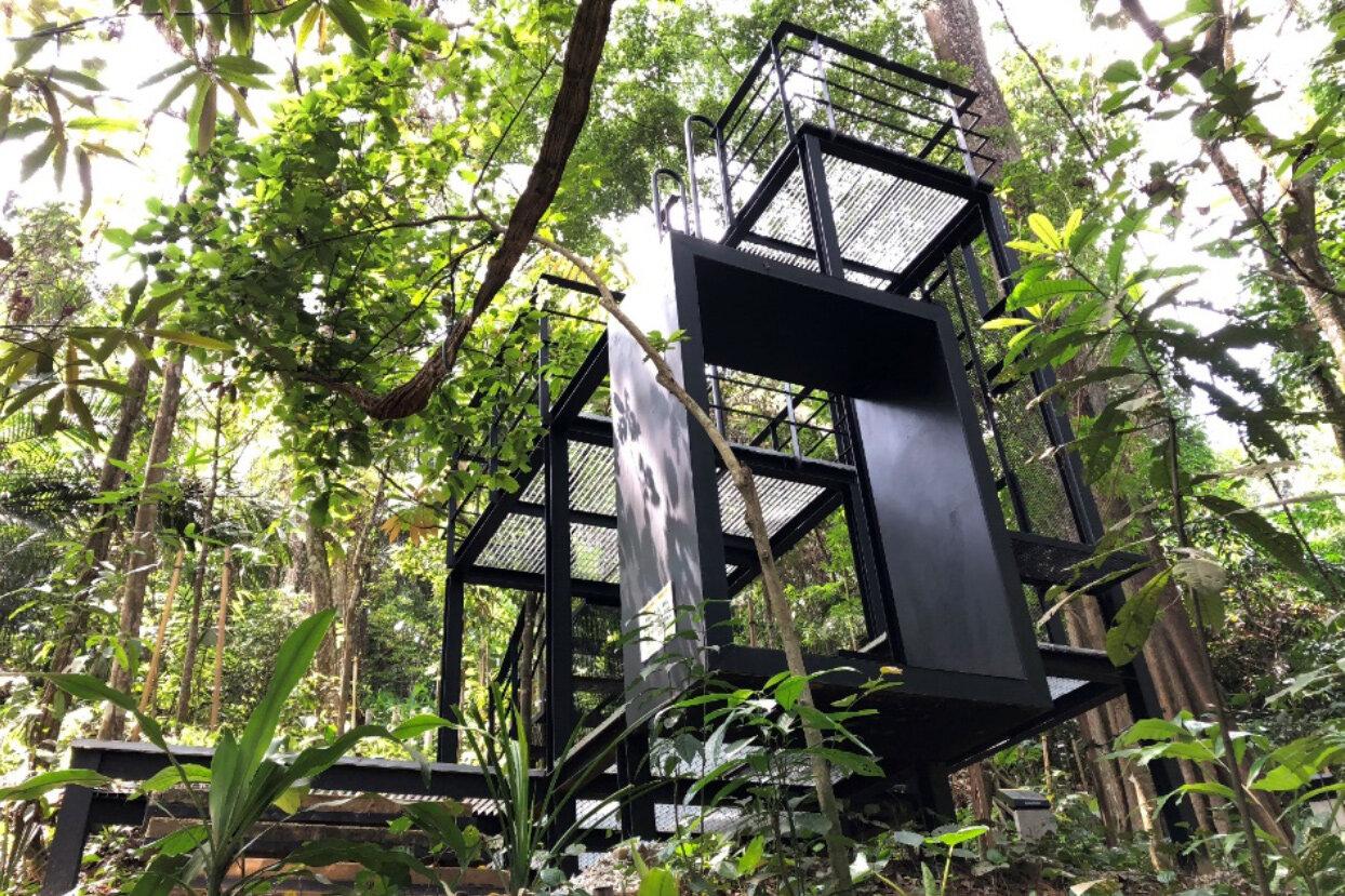 Taman tugu hiking trails source: taman tugu project