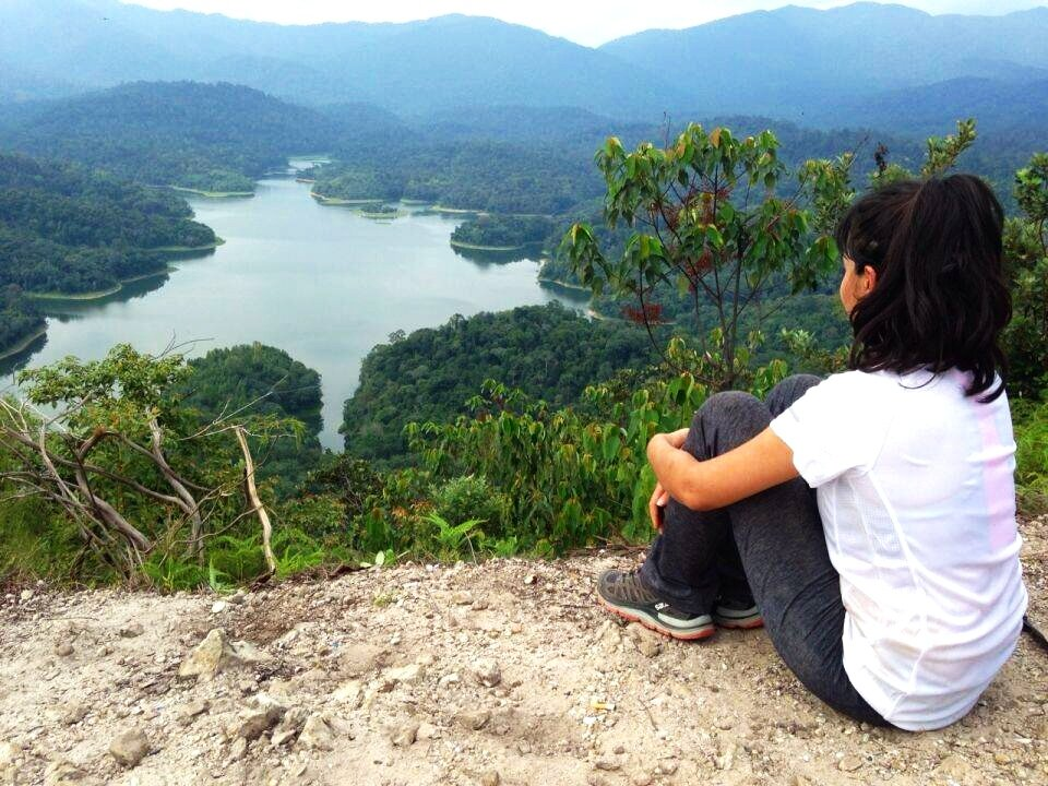 Bukit Tabur's east entrance that make it interesting and an unusual terrain for hikers in Malaysia