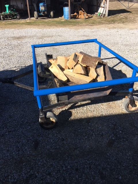 MOBILE FIRE PIT  $750.00 firm!  This patent pending invention is sure to set-off your backyard party for many summer events.  Be the only host in the neighborhood who can move the fire pit depending on needs.  This is a one-off unit.  Please call John for details.