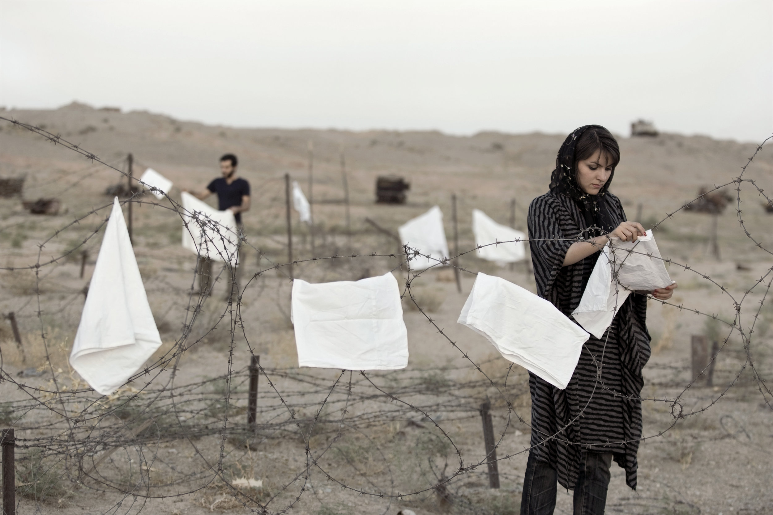 Gohar Dashti  Today's Life and War  (2008) Photograph, 105 x 70 cm Courtesy the artist