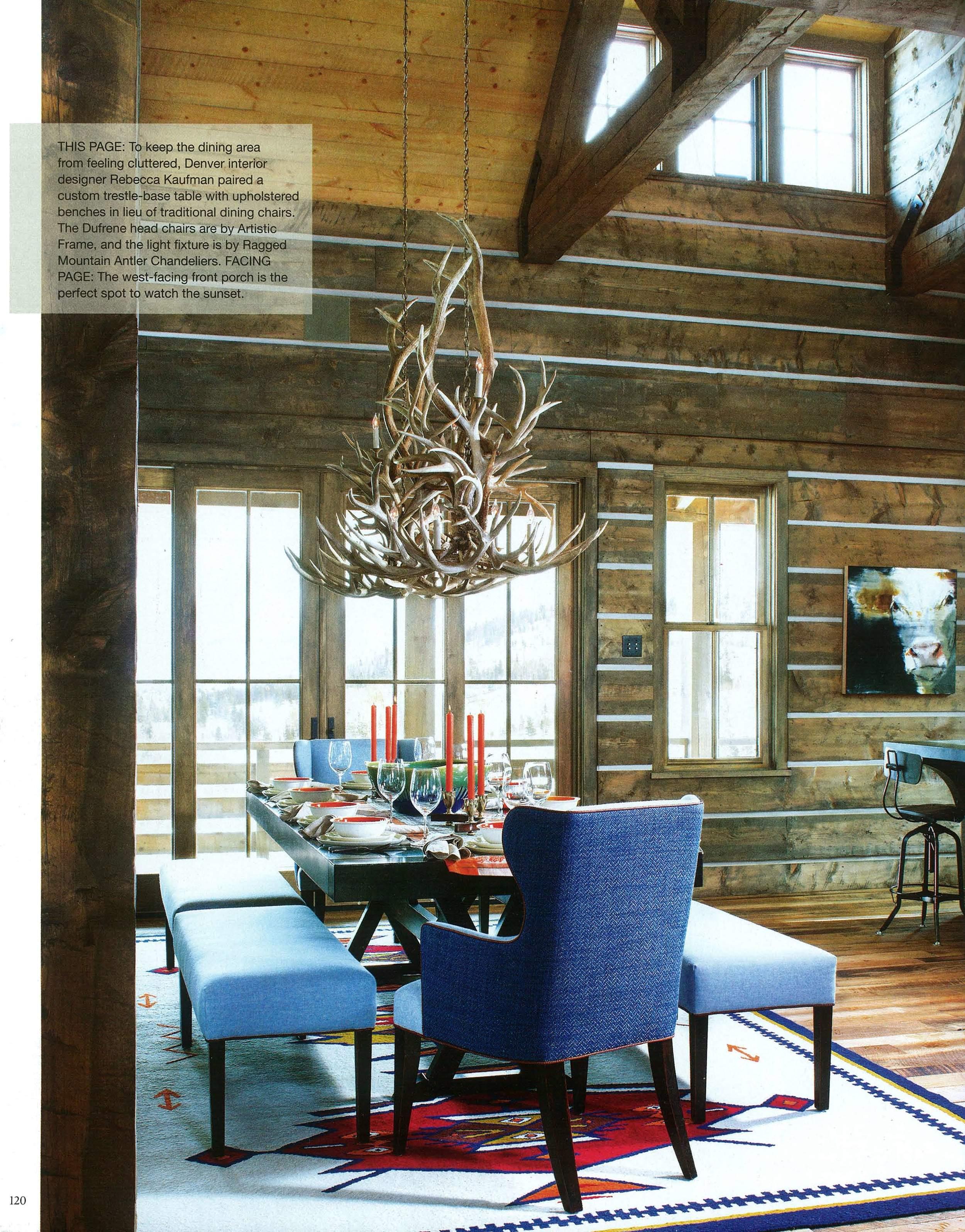 Colorado Dude Ranch   Mountain Living 2015   Design Associates Inc