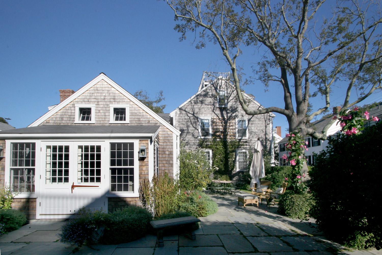 The George Lawrence House  Sunroom   Design Associates